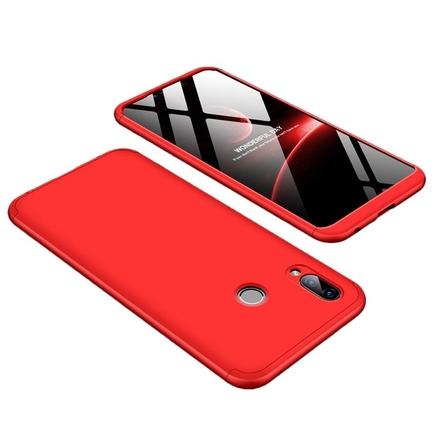 360 Protection pouzdro na přední i zadní část telefonu Huawei Honor Play červené