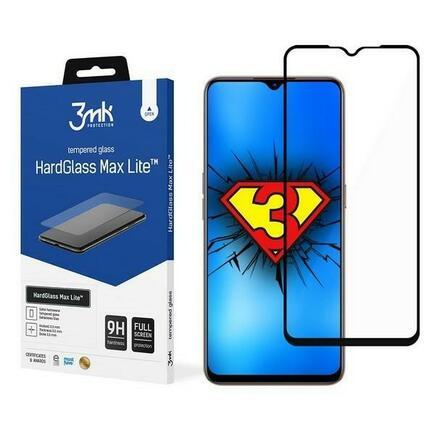3MK HG Max Lite tvrzené sklo Oppo A73 černé