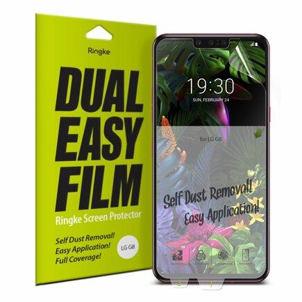 Dual Easy Film 2x ochranná fólie LG G8 ThinQ (ESLG0002)