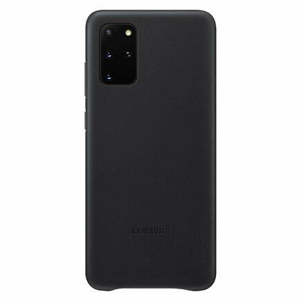 Leather Cover kožené pouzdro Samsung Galaxy Note 20 černé