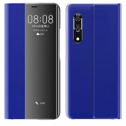 New Sleep Case pouzdro s klapkou s funkcí podstavce Huawei P30 modré