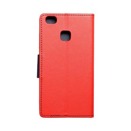 Pouzdro Fancy Book Huawei P9 Lite červené/tmavě modré