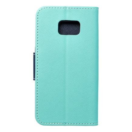 Pouzdro Fancy Book Samsung Galaxy S7 (G930) mátové/tmavě modré