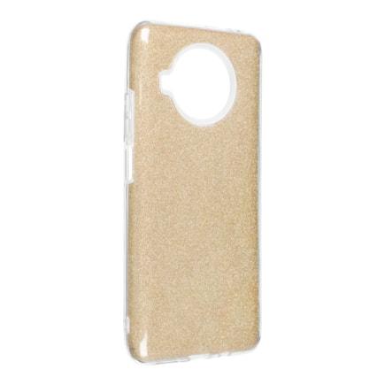 Pouzdro Forcell Shining Xiaomi Redmi Note 10 / 10S zlaté