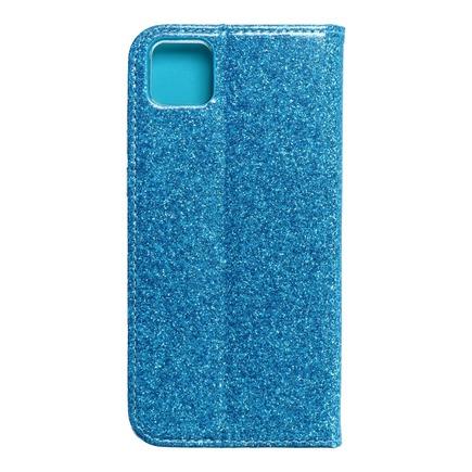 Pouzdro Shining Book Huawei Y5p modré