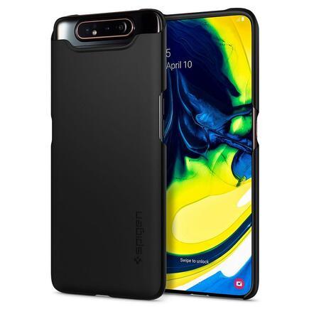 Pouzdro Thin Fit Galaxy A80 černé