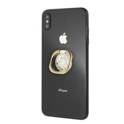 4G Metal Ring Stand Universal bílý/zlatý