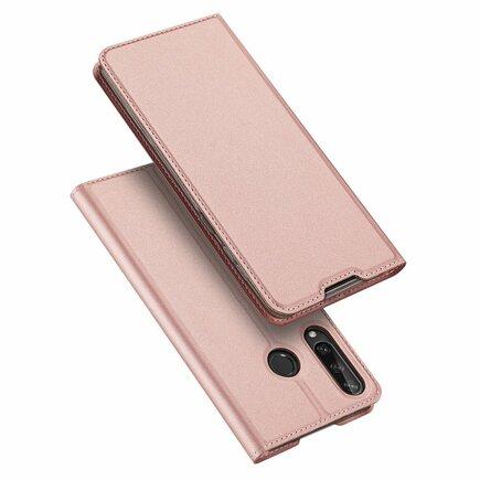 DUX DUCIS Skin Pro pouzdro s klapkou Huawei Y6p růžové