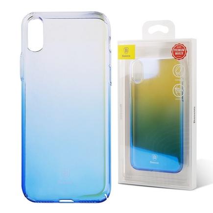 Glaze Case pouzdro ombre stínované iPhone X modré