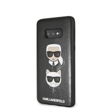Karl and Choupette Hard Pouzdro pro Galaxy S10e černé