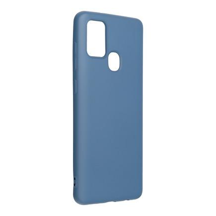 Pouzdro Silicone Lite Samsung Galaxy A21S modré