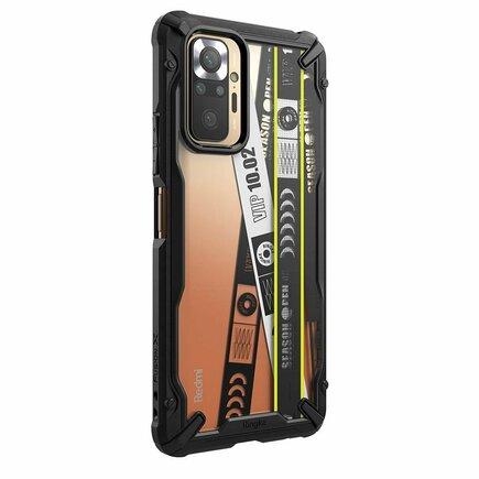 Ringke Fusion X Design pancéřové pouzdro s rámem Redmi Note 10 Pro / Pro Max TICKET BAND