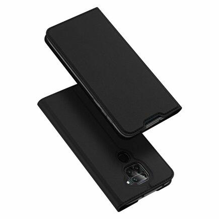 Skin Pro pouzdro s klapkou Xiaomi Redmi 10X 4G / Xiaomi Redmi Note 9 černé