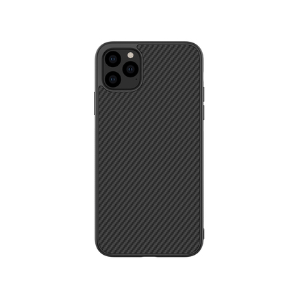 Synthetic Fiber Ochranné pouzdro pro iPhone 11 Pro Carbon černé